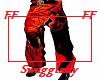 RED COBRA BAGGY PANTS