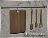 H. Hanging Utensils