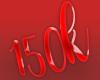 150k Love Sticker