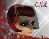 [CNL]Veil w/gems black