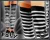 Skinnyboy Socks blk/whte