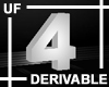 UF Derivable Digit 4