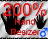 *M* Hand Scaler 200%