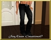 Male black jeans 01