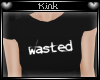 -k- Wasted