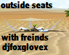 outside seats with poses