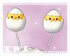 Easter Egg Chick Antenna