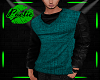DB PULLOVER - TEAL