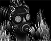 Grey Static Gasmask