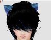 Blue fox ears