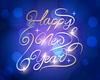 Happy New Year Throne