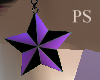[PS] Purple Star Earings