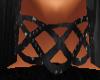 Black Leather Choker