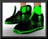 green skull kicks