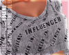s | Influence Hoodie Gry