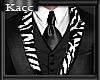 *Kc*WC-Zebra suit