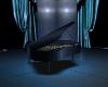Warm Blue Silver PIANO