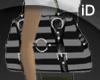 [iD] B&G Striped HandBag