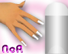 Silver/FrenchManicure