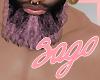 (S) Pink Puce Beard