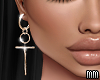 Crux - Earrings (gold)
