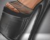 Clear Heels Black