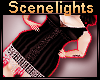 Kei| Black Flapper Dress