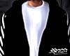 Black Denim Hoodie