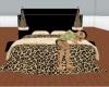 tiger print bed