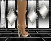 gold heart heels