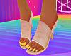 ! Peach Steel Toes