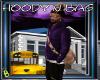 Hoddie and Bag Purple