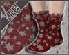 K  Holiday Socks - Red