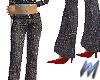 Grey Tweed Slacks