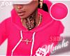 M! Drippin' Hoodie -Pink
