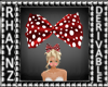 Kids Red Hair Bow