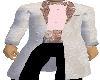 Pink Brocade Tux