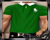 D: Green/White Polo