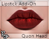 Blood Red Lips - Quon
