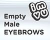 Empty Male Eyebrows