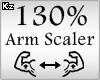 Scaler Arm 130%