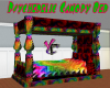 Psychedelic Canopy Bed