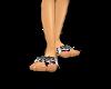 Zebra Sea Sandals