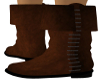 Brown Medieval Boot {F}