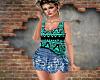 BoHo Skirt+top
