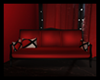 COUCHES RED & BLACK