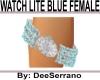 WATCH LITE BLUE FEMALE