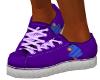 Purple Eeyore Sneakers M