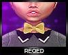 Req:Gold bowtie