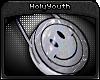 HY Smiley Hologram Bag